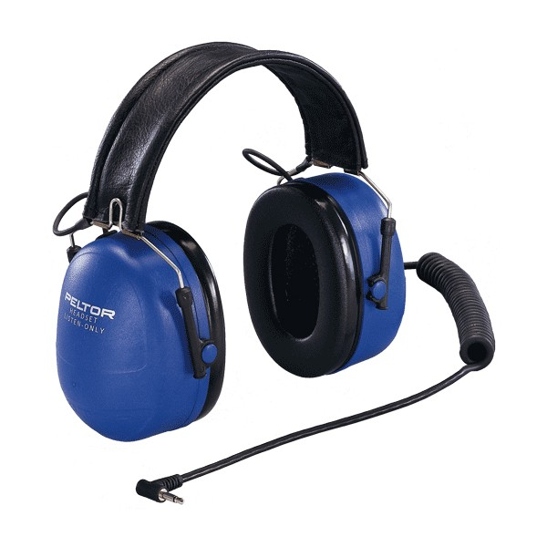 HTM79F-50 - Peltor Listen Only ATEX Approved Mono 3.5